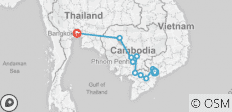Fascinating Vietnam, Cambodia & the Mekong River with Bangkok (Northbound) 2020 - 9 destinations