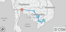 Fascinating Vietnam, Cambodia & the Mekong River with Bangkok (Northbound) - 10 destinations