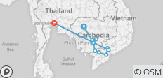 Fascinating Vietnam, Cambodia & the Mekong River with Bangkok (Southbound) 2020 - 11 destinations