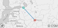 Russian Capitals Tour - 2 destinations