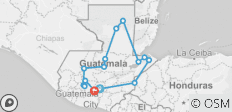 Guatemala - Land of the Maya - 14 destinations
