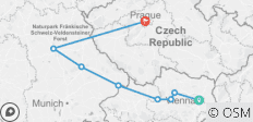 Christmastime on the Danube with 2 Nights in Prague (Westbound) - 8 destinations
