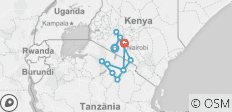 Kenya and Tanzania Overland Safari - 14 Days - 11 destinations