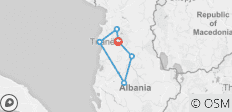 Albania in 3 days   :Food wine and History tour around Albania  - 6 destinations