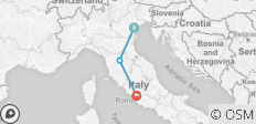 Italian dream: from Venice to Rome hopping by high speed train  - 3 destinations