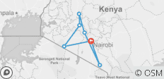 8 Days Classic Kenya Safari - 7 destinations