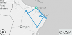 Blissful Oman - 10 destinations