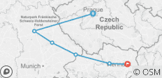Christmastime on the Danube with 2 Nights in Prague (Eastbound) - 6 destinations