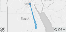 Cairo and Nile Cruise Tour - 8 destinations