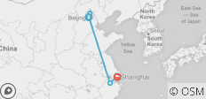 Beijing to Shanghai Express - 9 days - 5 destinations