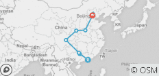 Hong Kong to Beijing - 15 days - 10 destinations
