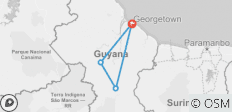 Wild Guyana - 4 destinations