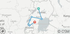 Discover Uganda 15 Days - 7 destinations