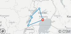 11 Days Uganda Plus Gorillas - 7 destinations