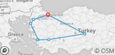 Gallipoli, Troy, Ephesus, Pamukkale and Cappadocia Tour from Istanbul - 8 destinations