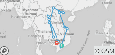 Grand of Indochina Tour 27 Days - 13 destinations
