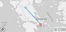 3 Days Rail Tour From Athens To Meteora - 3 destinations