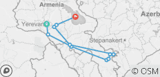 6 days in Armenia - 11 destinations