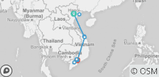 Amazing Vietnam 10 Days 9 Nights Tour From North Central To South - 10 destinations