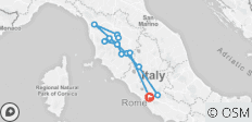 4 Days TUSCANY TOUR - from Rome - 15 destinations