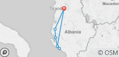Hiking Adventure Tour of South Albania - 7 destinations