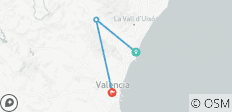 Valencia Mediterranean in 3 stages - 3 destinations