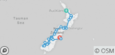 Walking in New Zealand (Jan To Mar) - 31 destinations