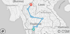 Thailand food trails - 8 destinations