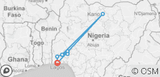 Discover Nigeria, 7 Days - 8 destinations