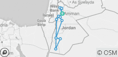 Roots of Jordan - 11 destinations
