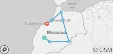 Around Morocco Tour (with Chefchaouen\'s experience) - 7 destinations