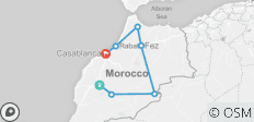 8-Day Around Morocco Tour - 7 destinations