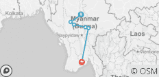 Amazing Myanmar Tour - 6 destinations
