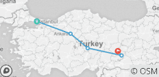 Central & Eastern Turkey Heritage - 5 destinations