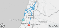 Adventure of Israel Galilee & Golan Trip - 3 Days - 12 destinations