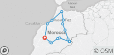 Morocco 9 Days Tour from Marrakech - 15 destinations