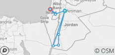Jordan & Israel (from Amman to Tel Aviv) - 9 destinations