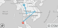 Thailand in Two Weeks - 6 destinations