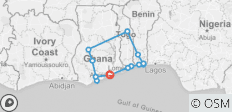 Ghana, Togo & Benin Including The Annual Ouidah Voodoo Festival January, 2021 - 13 destinations