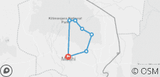 6 Tage Kilimandscharo, Marangu Route - 7 Destinationen
