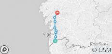 Camino Portugues Final Stage: Tui to Santiago - 9 destinations