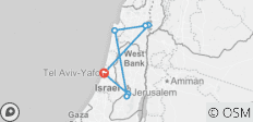 Israel tours  - 7 destinations