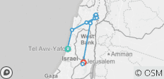Israel: Pilgrimage to the Holy Land (11 destinations) - 11 destinations