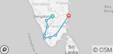 Pearls of South India Tour - 8 destinations