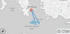 Crete Island 8 Day Guided  BMW R1200GS Motorcycle Tour - 9 destinations