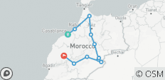 From Casablanca to Marrakech (Private) - 6 Days - 11 destinations