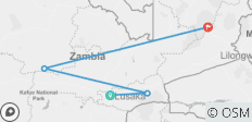 Highlights of Zambia  - 4 destinations