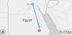 Real Life Egypt Tour 3 (from Cairo to Aswan) - 4 destinations