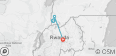 3 day fly into Rwanda track Gorillas in Uganda - 3 destinations