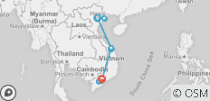 North to South Vietnam (for Solos) - 11 Days - 22 destinations